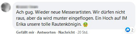 facebook kommentar messerartisten